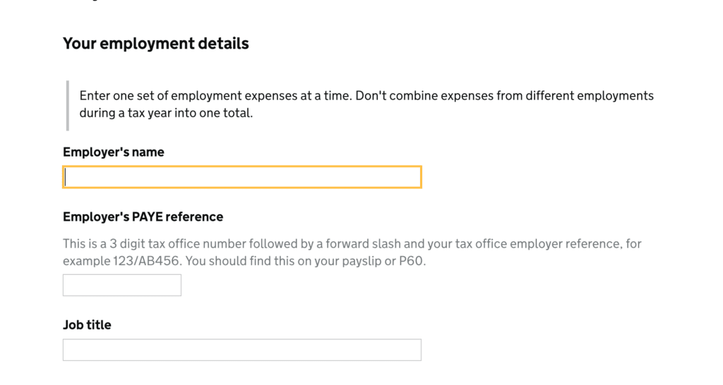 P87 form. Uniform tax refund
