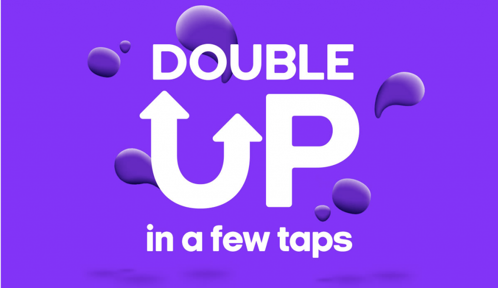 Sainsbury's Nectar Double Up event