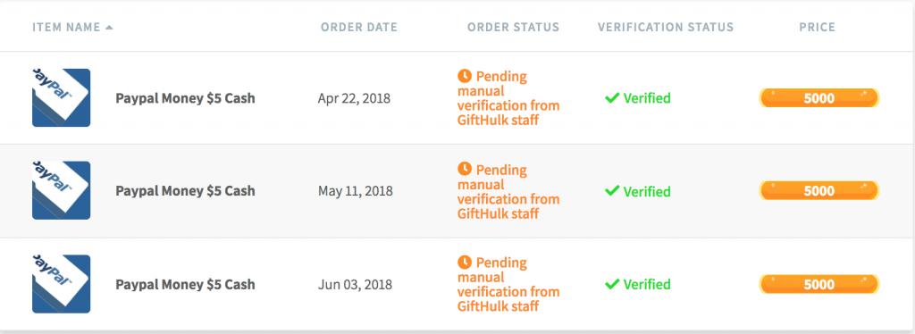 gifthulk scam?