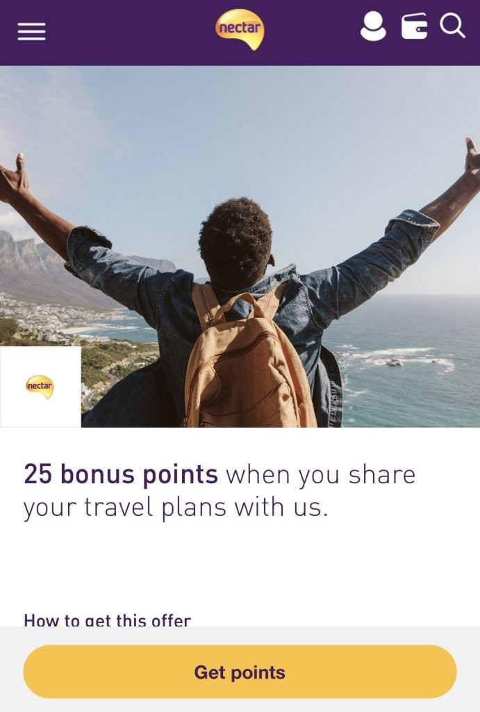 ways to earn extra nectar points