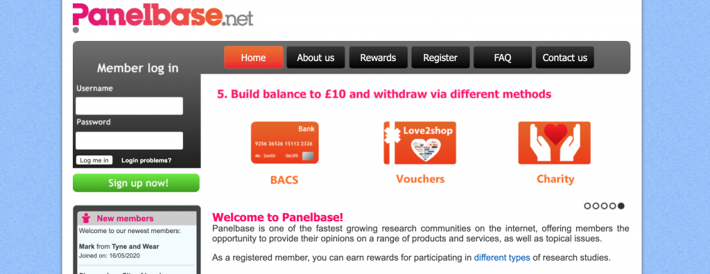 panelbase screenshot