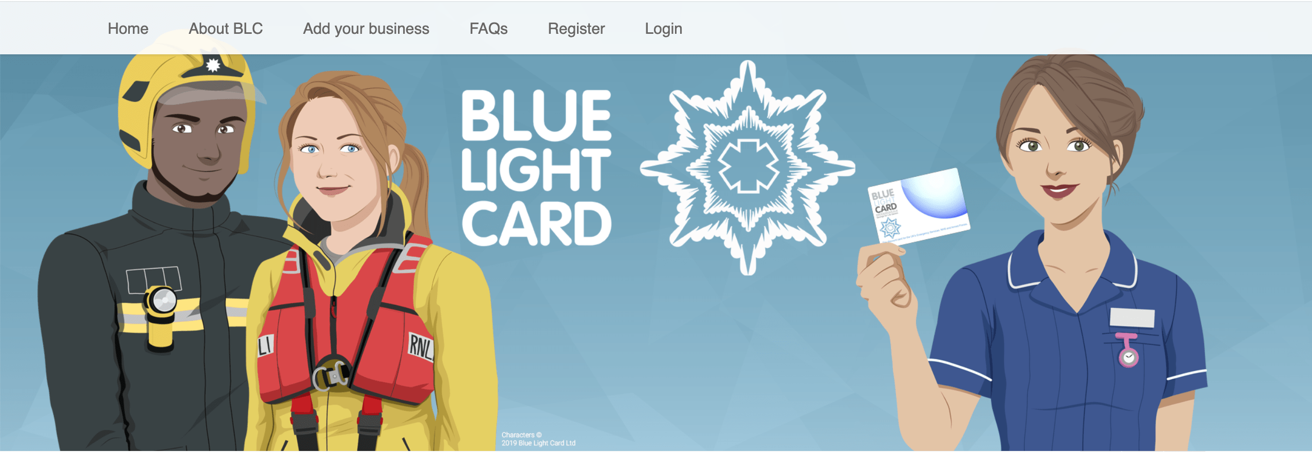 blue light card domino's dicount