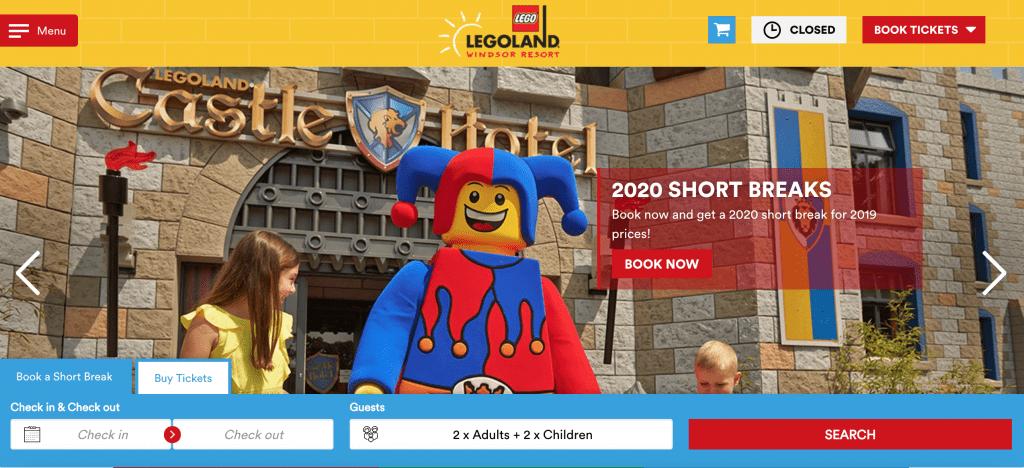 Legoland half price tickets
