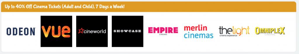 Kids Pass list of cinemas