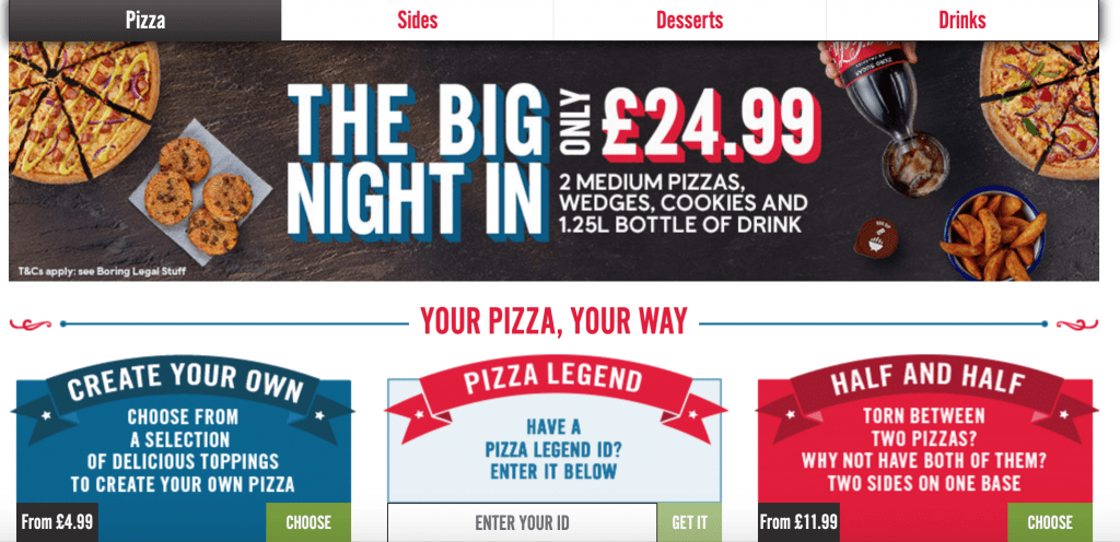 50% off at Domino's for NHS staff