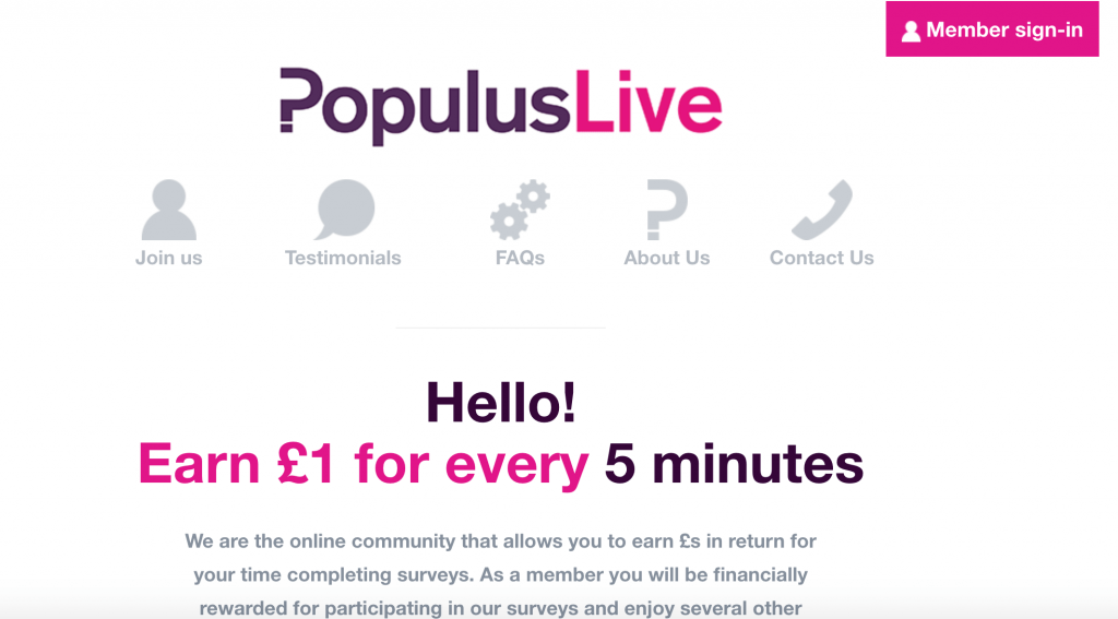 PopulusLive review a great way to earn