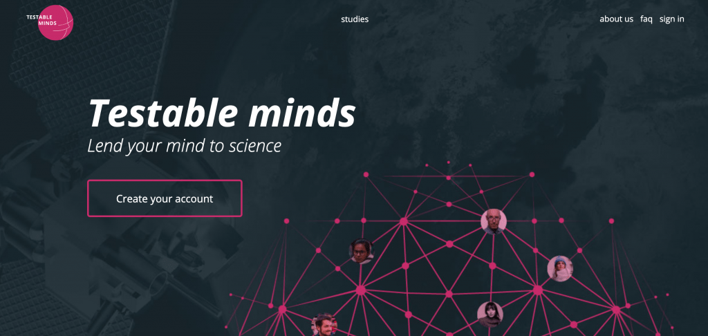 Testable Minds paid survey site