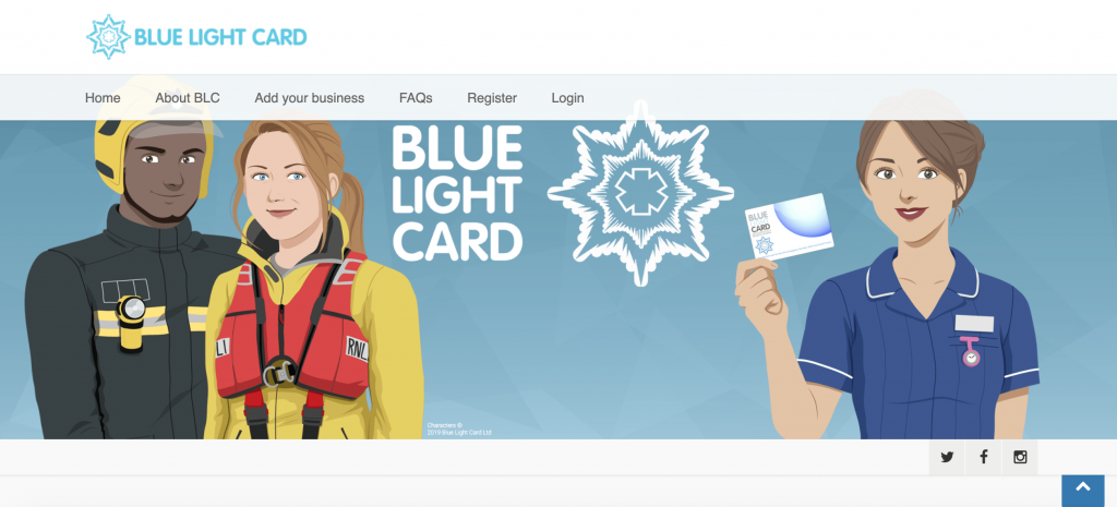 Blue light card civil service