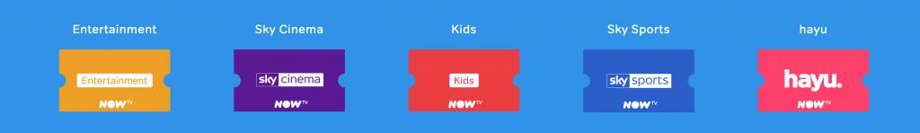 NowTV entertainment passes
