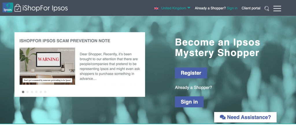 Ipsos mystery shopping review