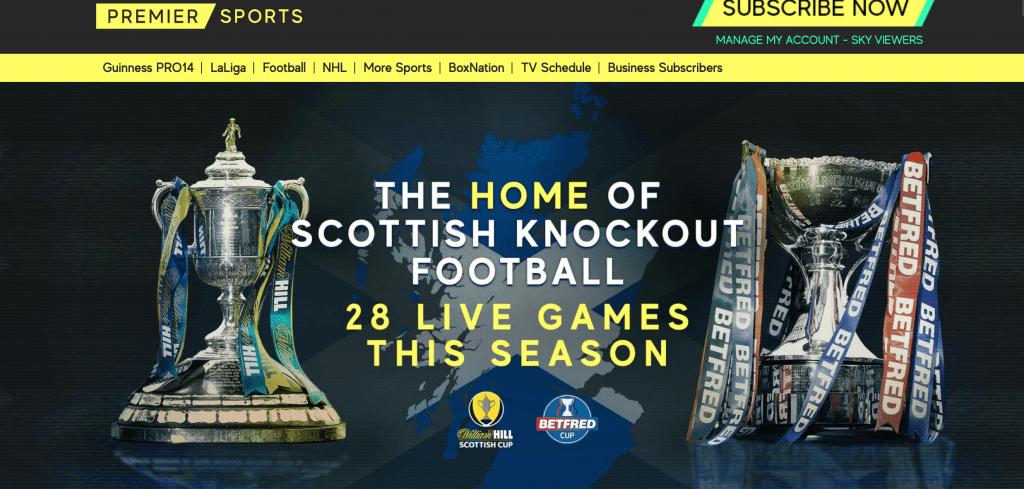 Premier Sports subscription