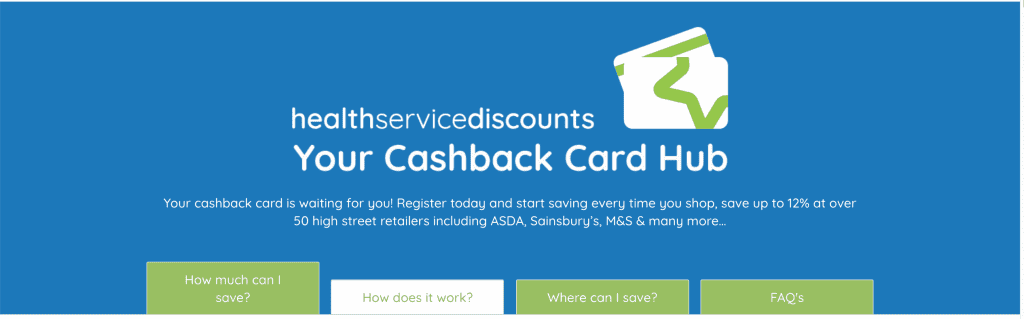 cashback from health service discounts
