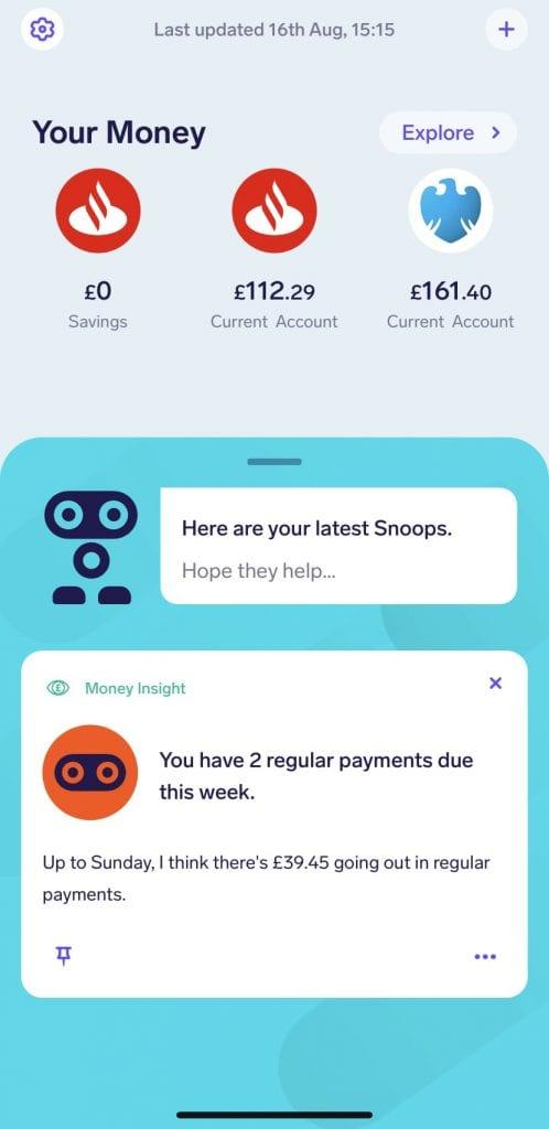 snoop personal finance