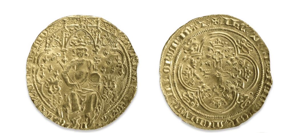 1344 Edward III Gold Double Leopard Florin