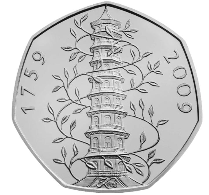 50 pence kew gardens