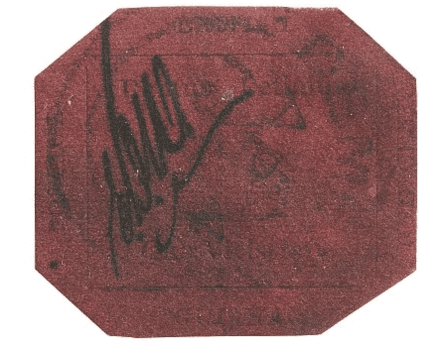 British Guiana 1c magenta most valuable stamp