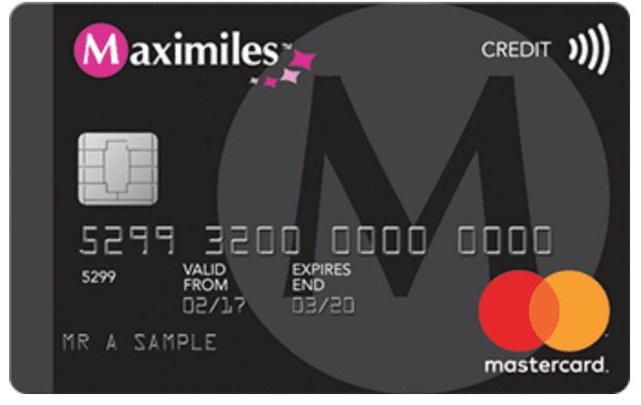 maximiles credit card