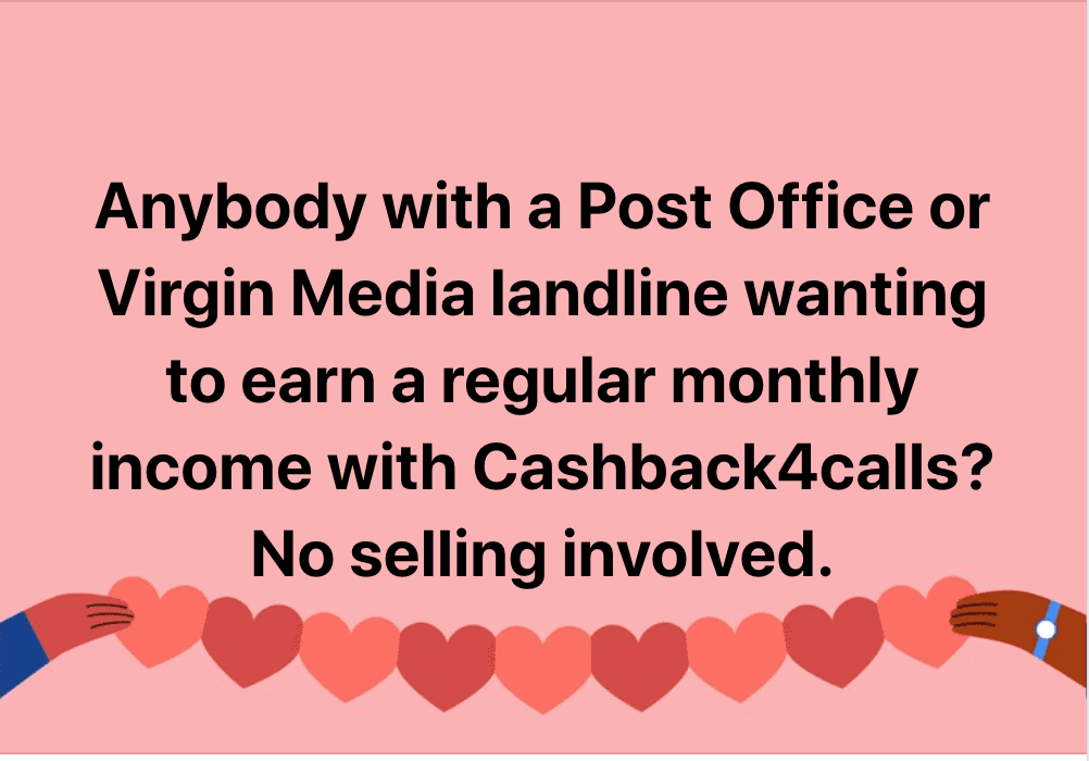 facebook post cash4calls