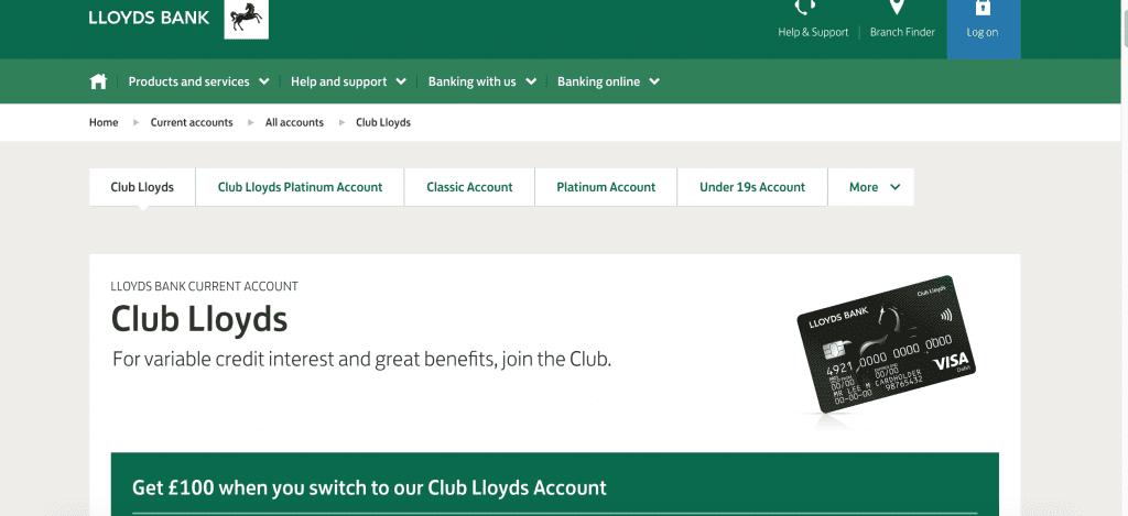 club lloyds account review