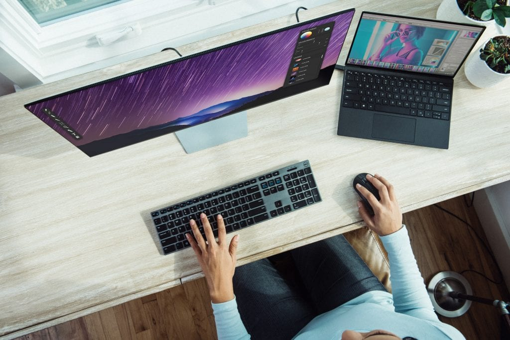 using a computer from home