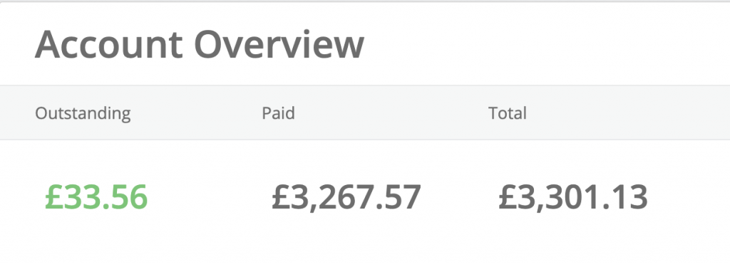 total earnings from topcashback