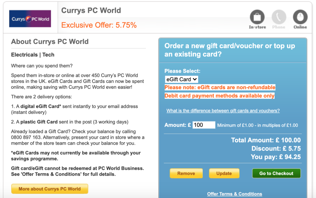 NHS Discount At Currys? How To Save Money - Household ...